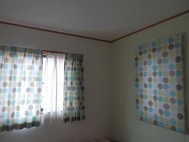 レオハウス 男の子部屋カーテン