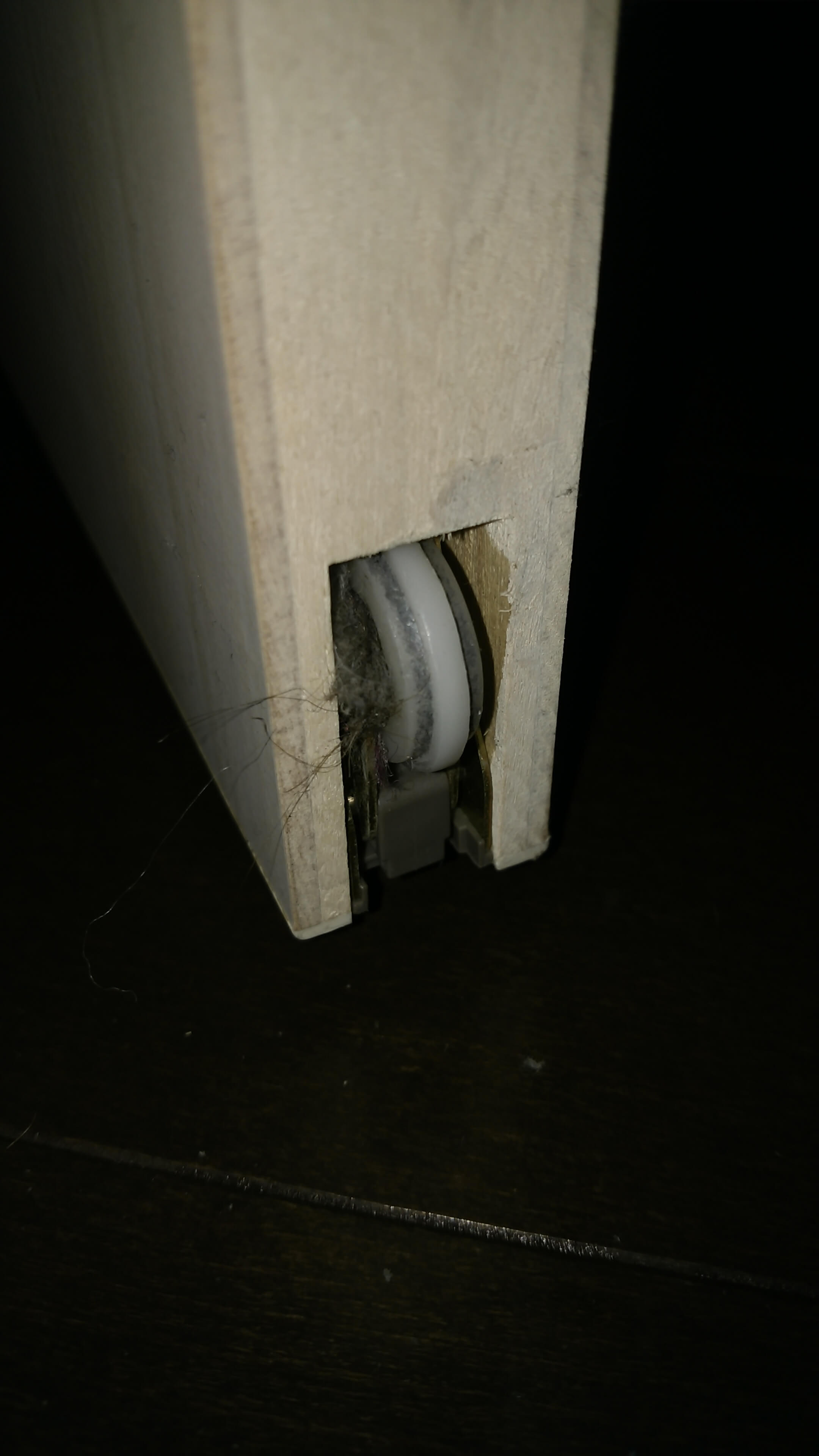 レオハウスの引き戸が重くなったのを自分で直す