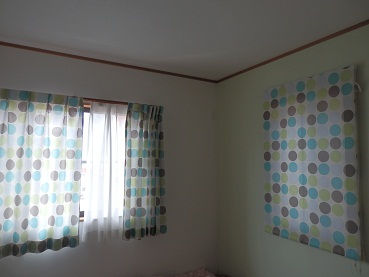 レオハウス オプションカーテン