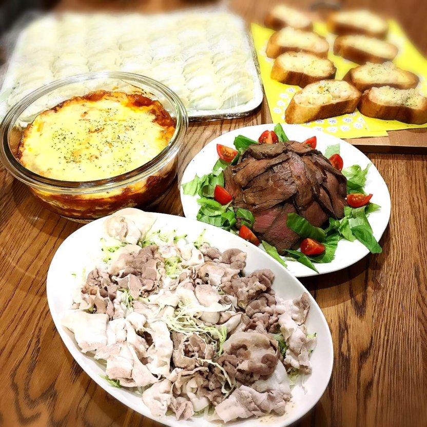 年に一度のホームパーティ 料理頑張りました!