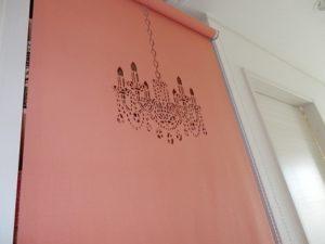 レオハウスのカーテン