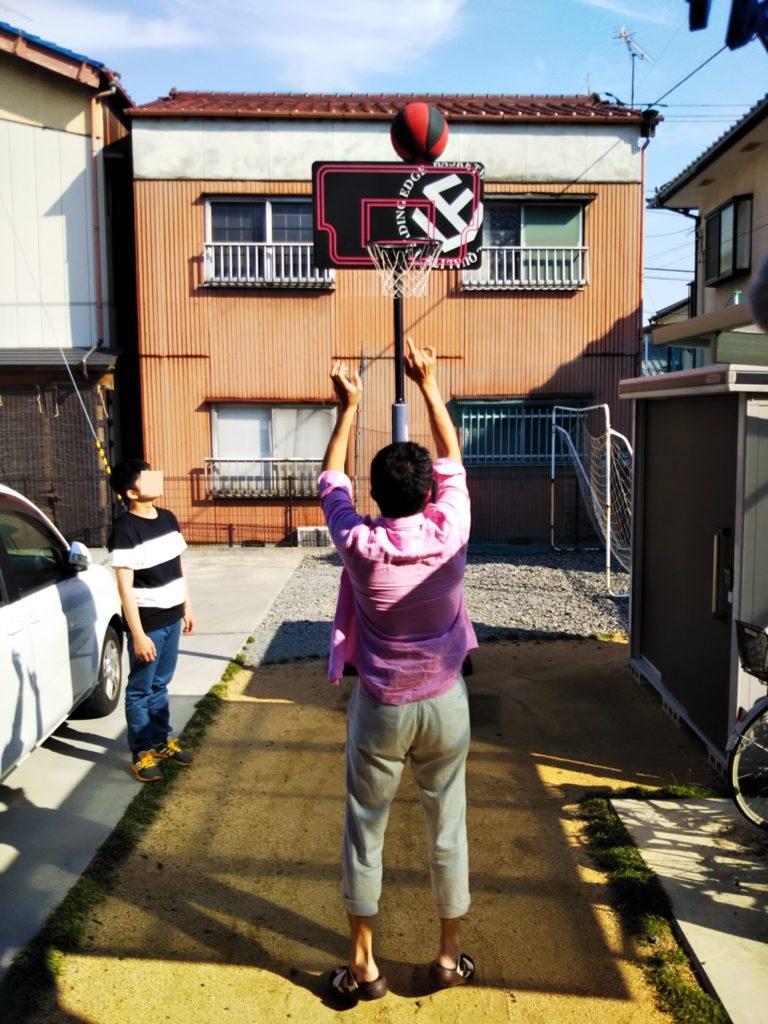 リーディングエッジ バスケットボール ゴール ブラック LE-BS305B