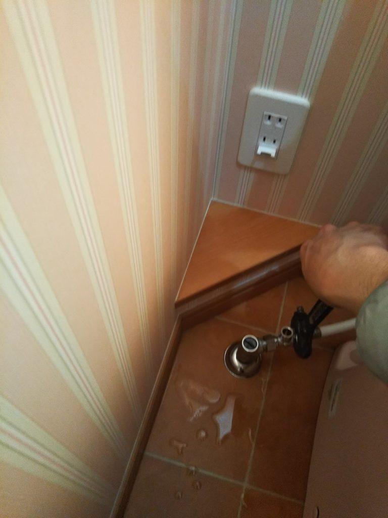 分岐水栓取り替え
