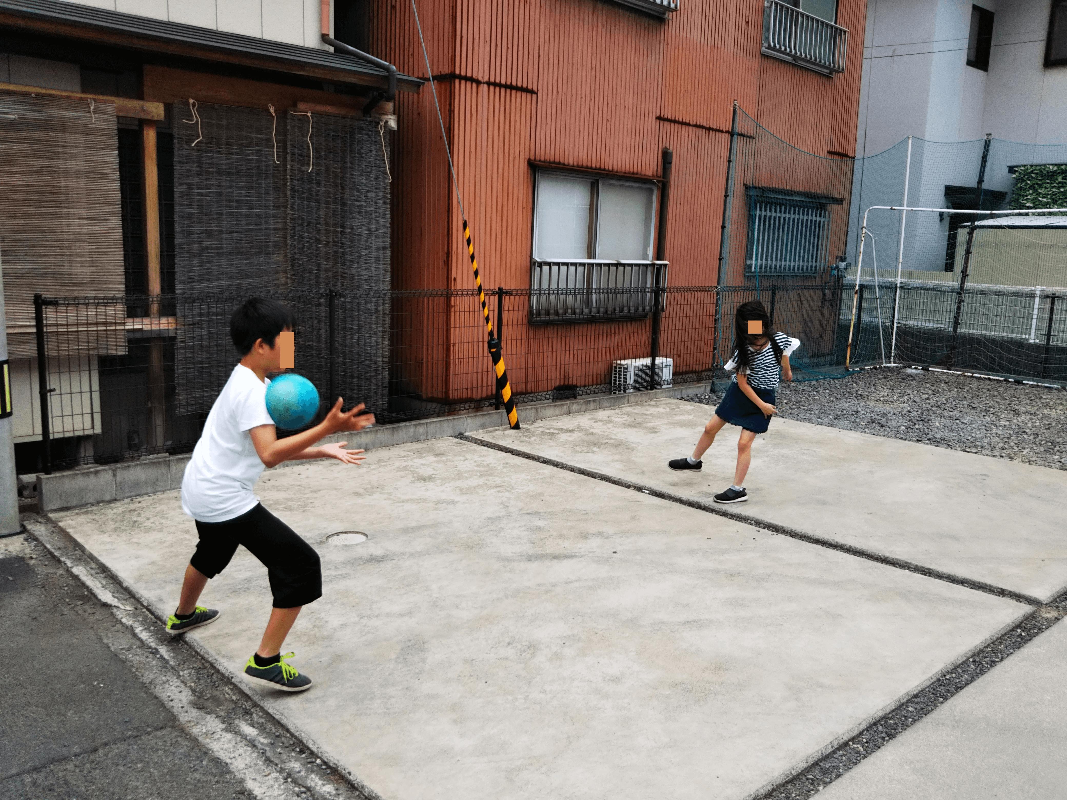 トーナメント戦でドッチボール