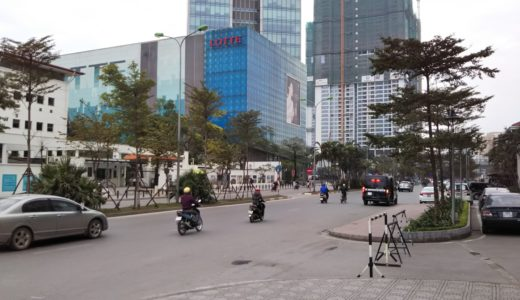 ベトナムハノイに介護職種外国人技能実習生の面接しに行く行程