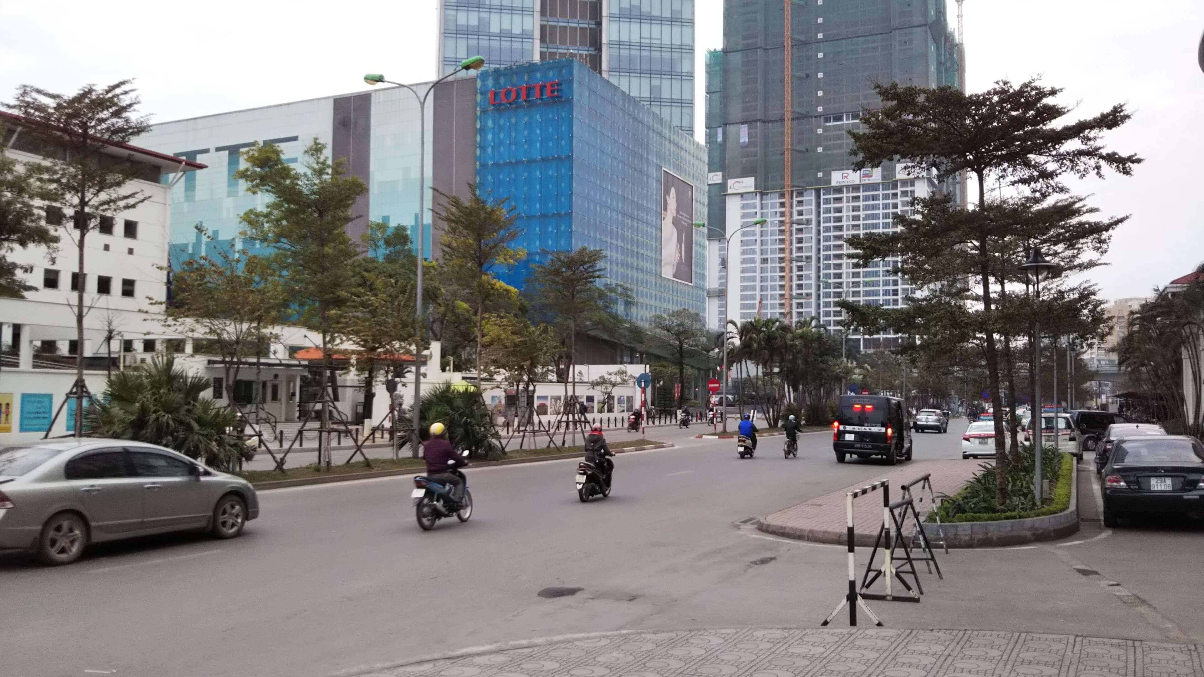 ベトナムハノイの街並み