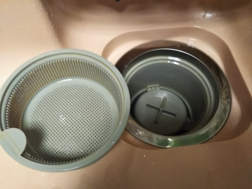 排水口掃除後