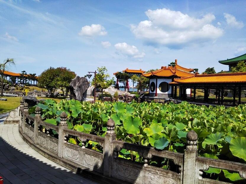 中国庭園燕趙園景色