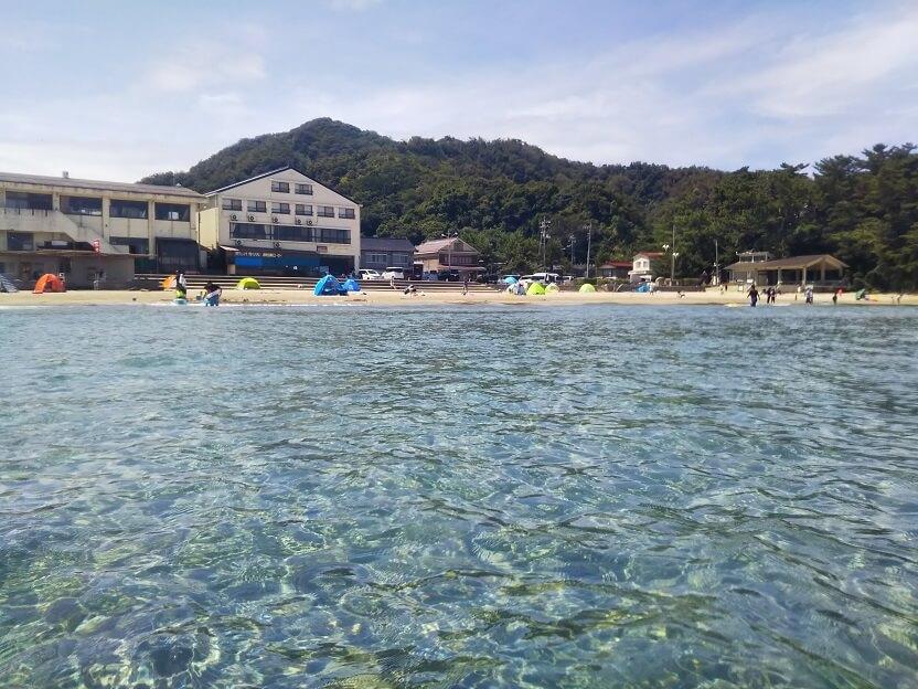 鳥取県浦富海水浴場