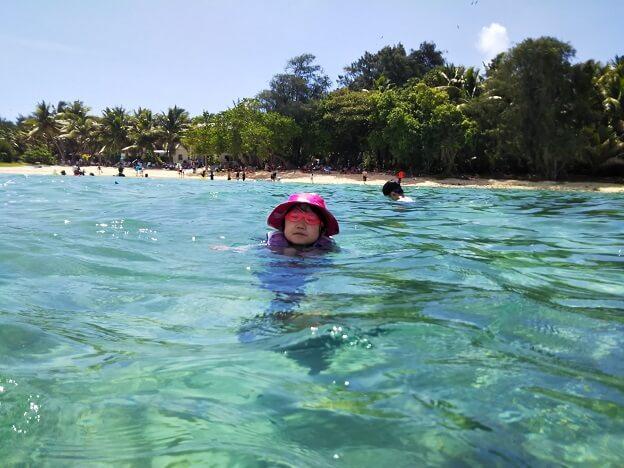 ココス島ビーチ