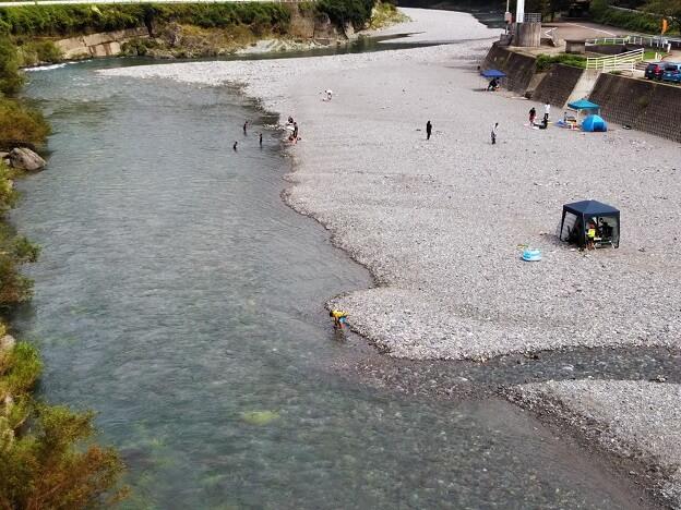 徳島県穴吹川天神の瀬