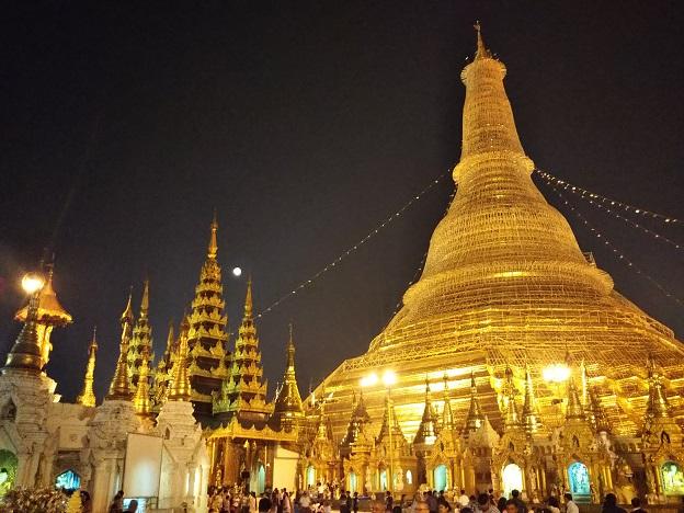 ミャンマーのヤンゴンに