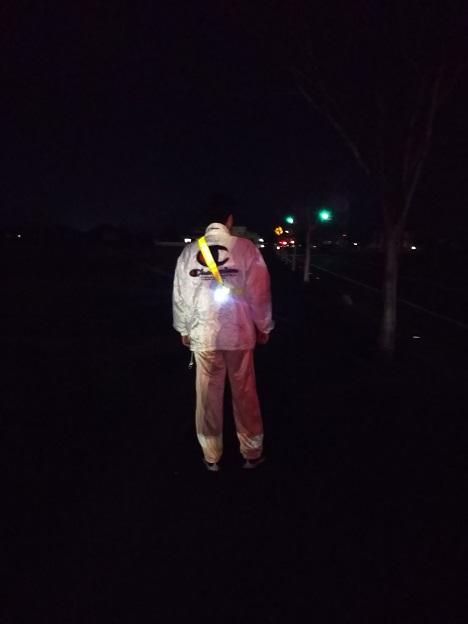 安全に夜歩き