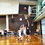 バスケットボール試合