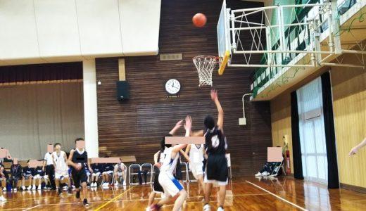 バスケットボール県大会で緊張し味方を頼りミスる長男に解消方法を教える