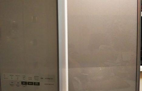 日立冷蔵庫R-A5700 扉の回転仕切り故障自分で修理とその方法