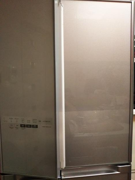 日立冷蔵庫 回転扉故障