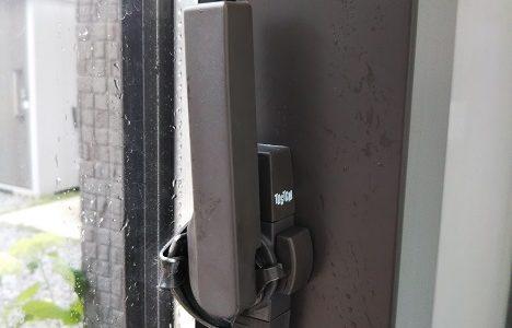 窓(サッシ錠やクレセント)の鍵がかたいの簡単に直せる トステム(レオハウスの家)