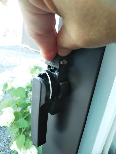 窓の鍵 カバー