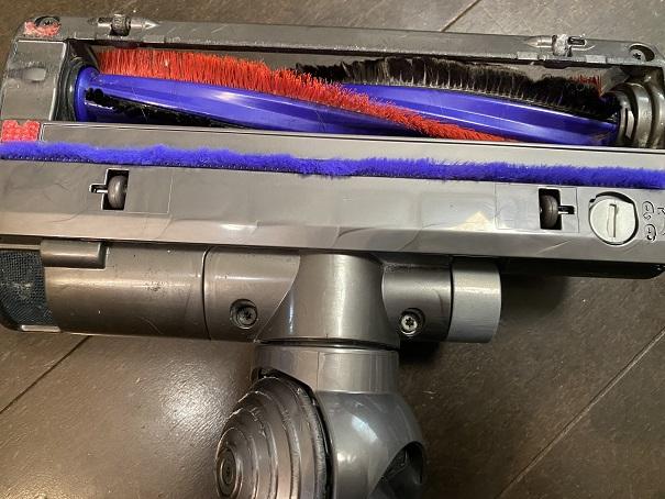 ダイソン掃除機 DC48 リアソールプレート交換